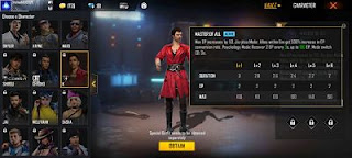 Which is the best character in free fire - Earningsuite