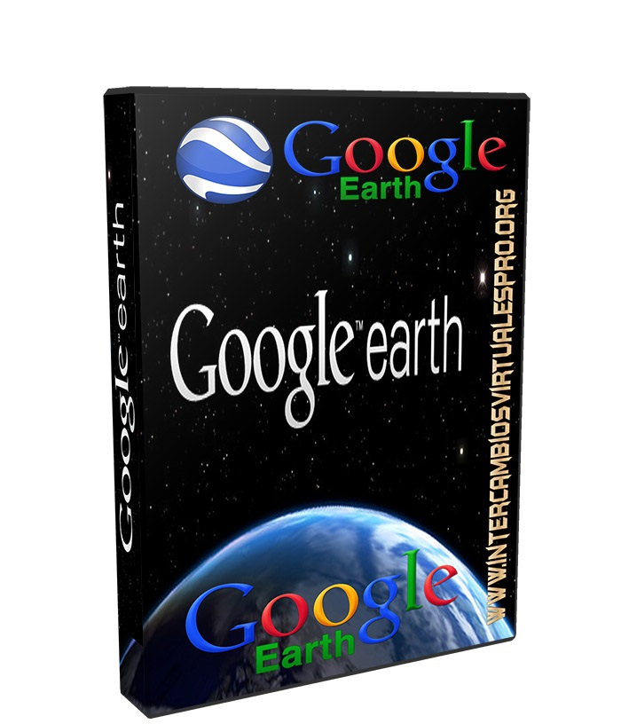 Google Earth 7.1.7.2600 poster box cover