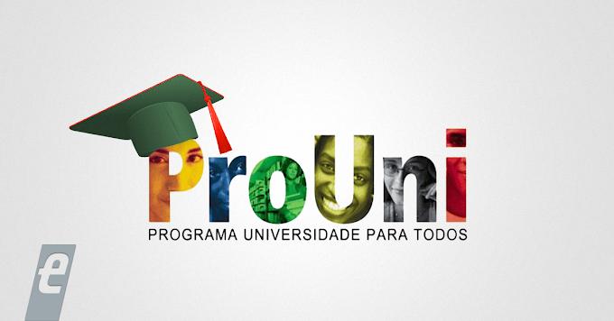 Inscrições para o Prouni começam em 12 de janeiro