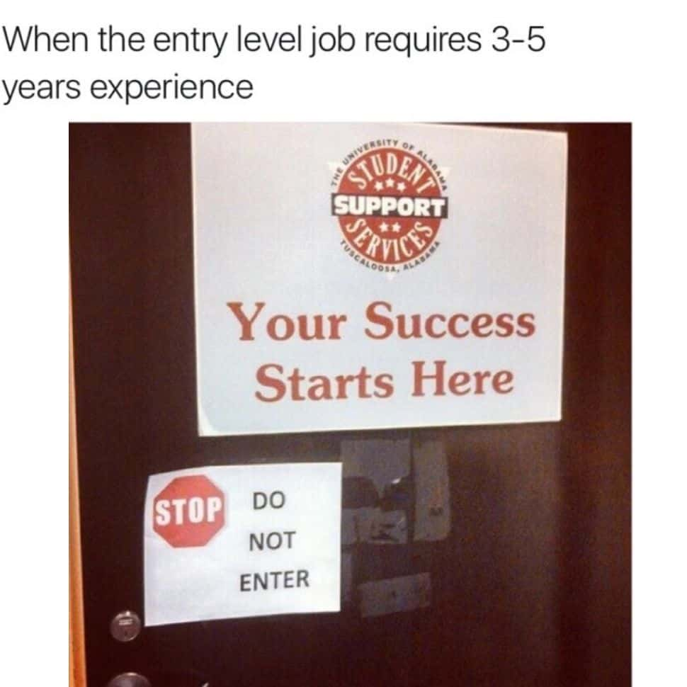 when-the-entry-level-job-require-3-5-years-experience-funniest-best-dark-memes