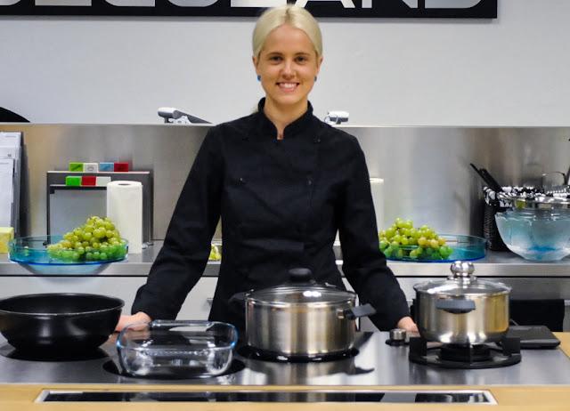 Chef Sandra Vungi-Pohlak