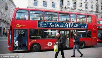 """""""Vinh danh Allah"""" trên các xe buýt Luân Đôn"""