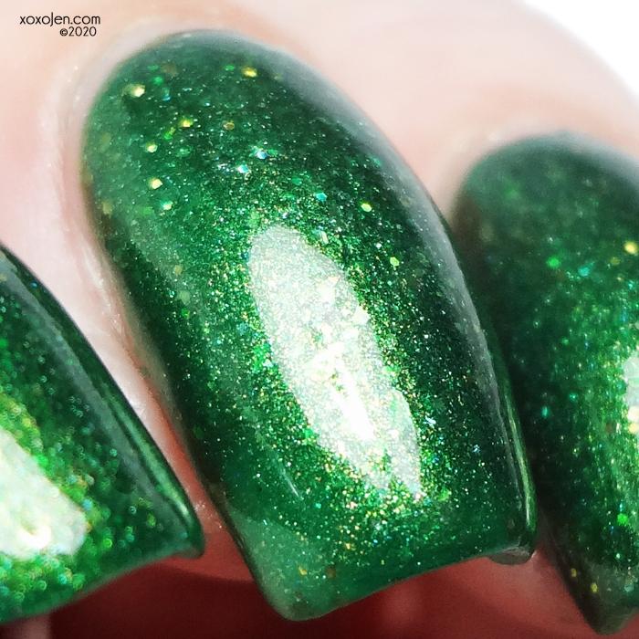 xoxoJen's swatch of Turtle Tootsie Emerald Diva