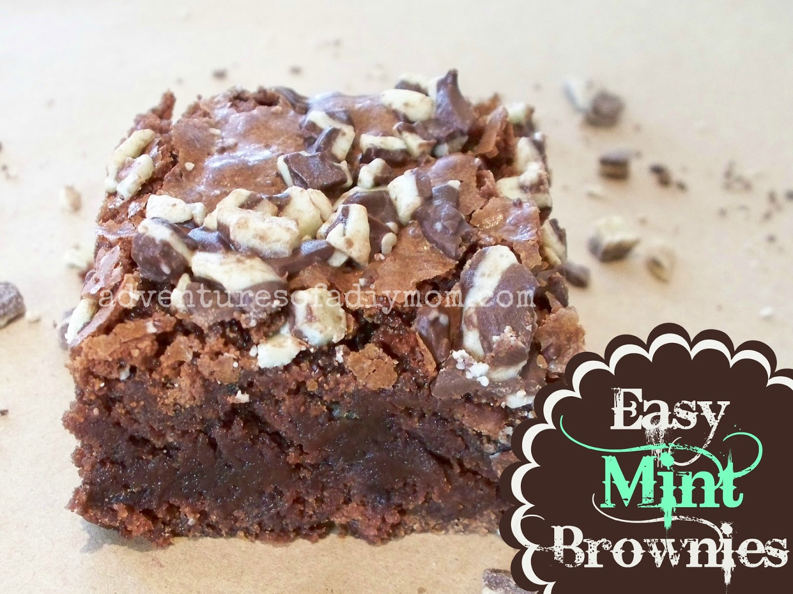 Easy Mint Brownies
