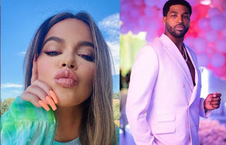 Tristan Thompson raved over Khloe's new pic amid rumors of their rekindled romance