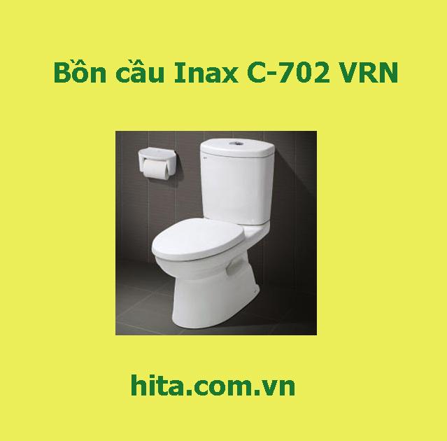 Giá, đặc điểm, tính năng bồn cầu Inax C-702 VRN