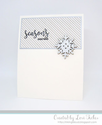 Season's Greetings card-designed by Lori Tecler/Inking Aloud-stamps from Avery Elle