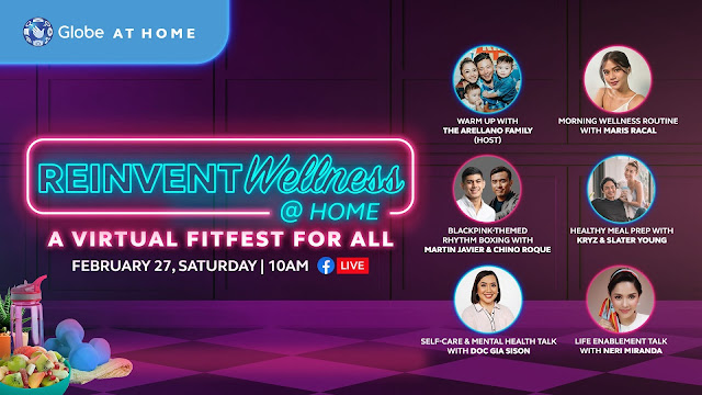 Reinvent Wellness With Globe At Home
