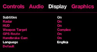 Display Language GTA IV