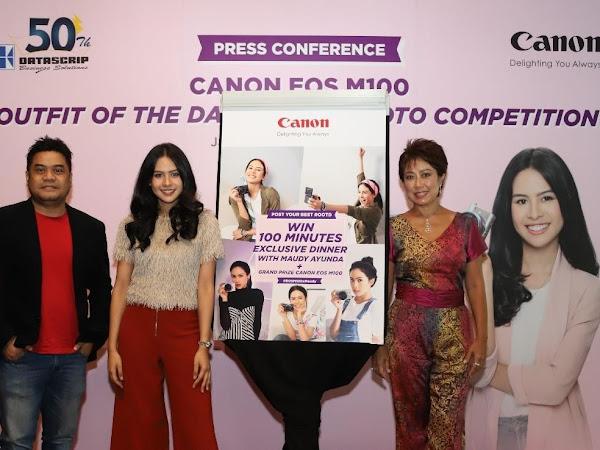 Wujudkan Kamera Impian CANON EOS M100 dan Dinner Bareng Maudy Ayunda di #OOTD IG Competition #EOSM100XMAUDY