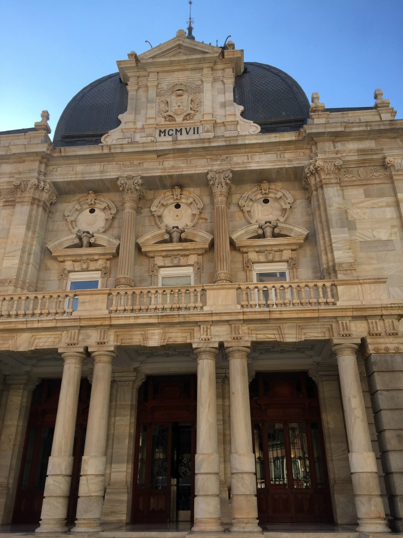 Town hall in Cartagena Spain