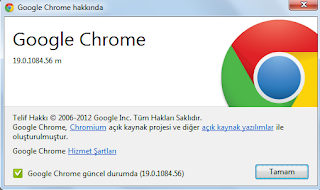 Google Chrome 19.0.1084.56 m