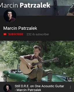 Marcin Patrzalek Youtube Channel