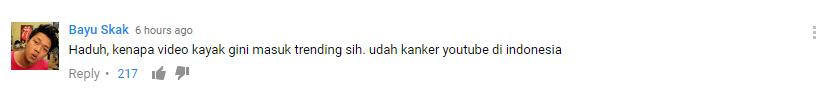 Kumpulan Komentar Ngakak Video Klip Awkarin - Candu