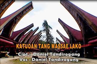 Lirik Lagu Katuoan Tang Massae Lako (Daniel Tandirogang)
