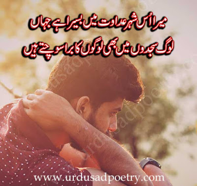 Mera Us Shaher-E-Adawat Main Basera Hay Jahan