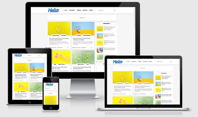 Download Template Helio Premium Gratis
