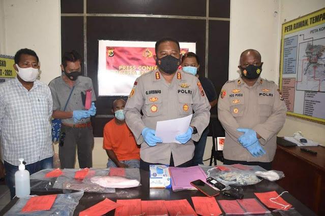 Ongko, Pelaku Pencurian dan Kekerasan ke Seorang IRT di Hamadi Diancam Hukuman Berlapis Penjara 15 Tahun