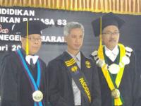 Rismiyanto, doktor baru di Prodi PBI Universitas Muria Kudus