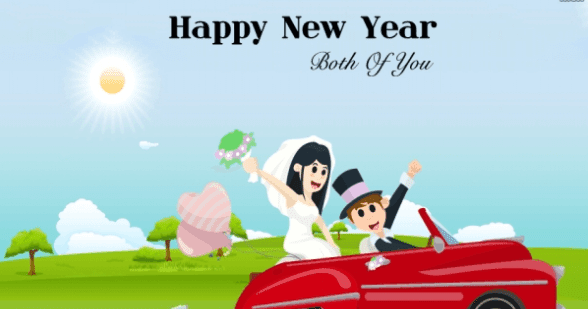 Happy New Year To You Both
