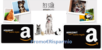Logo Amazon Pet Star : vinci gratis codice Amazon da 1000€ e non solo