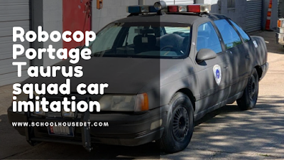 Robocop Portage Taurus squad car imitation