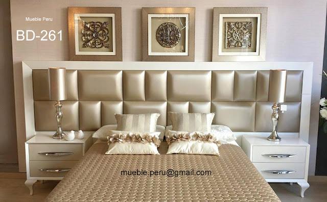 Dormitorios modernos for Muebles de dormitorio lima