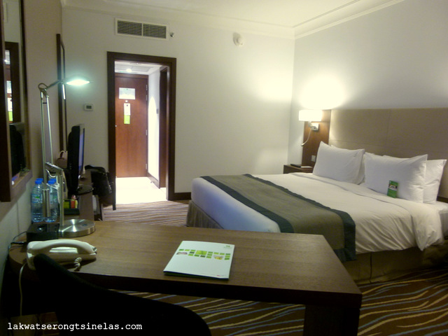 THE OVERNIGHT AT HOLIDAY INN ABU DHABI DOWNTOWN
