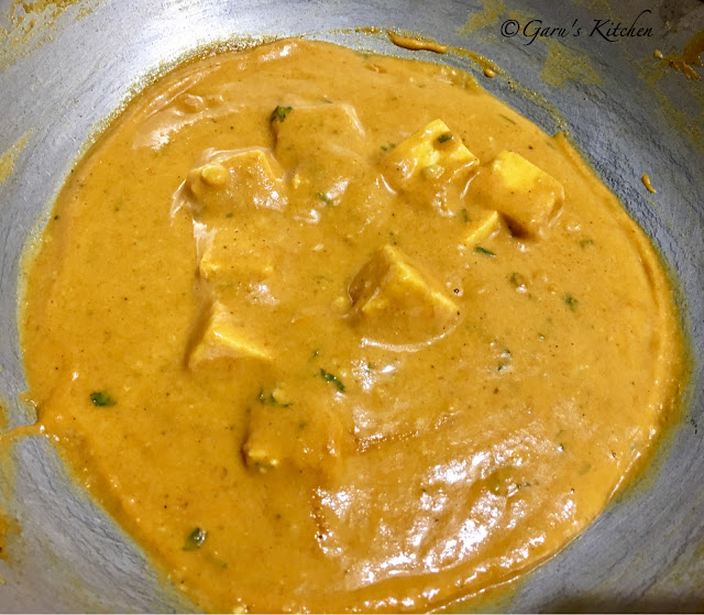 shahi paneer recipe - restaurant style | punjabi shahi paneer recipe | how to make shahi paneer
