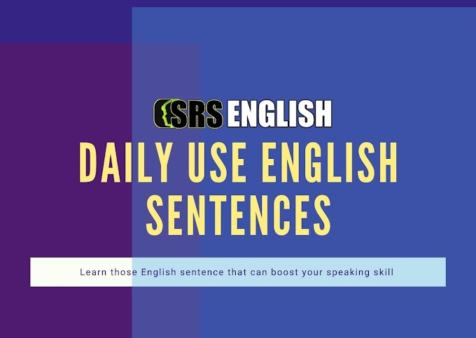 Daily use English words with Hindi meaning  with pdf   part 2   SRS English