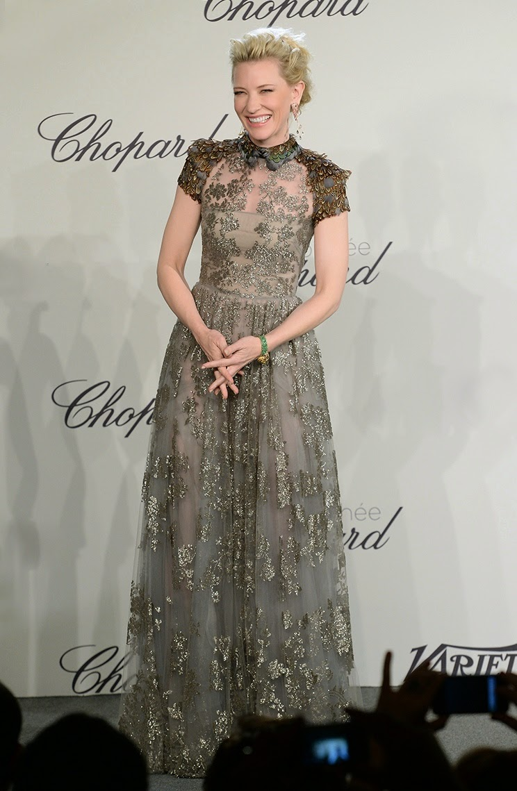 Cate Blanchett in Valentino, Cannes fashion, Red carpet Fashion 2014, L'Oreal Spokesperson, L'Oreal Ambassador, Celebrity Fashion, Pakistan Fashion Blog, Top Trends 2014