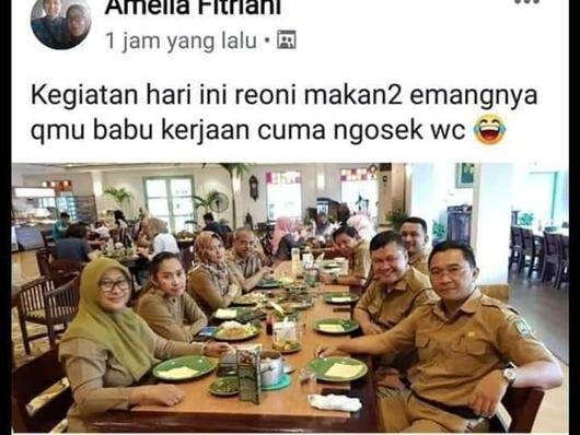 ASN Pemkot Tangerang yang Hina Babu di Medsos Dimutasi Jadi Staf Kelurahan