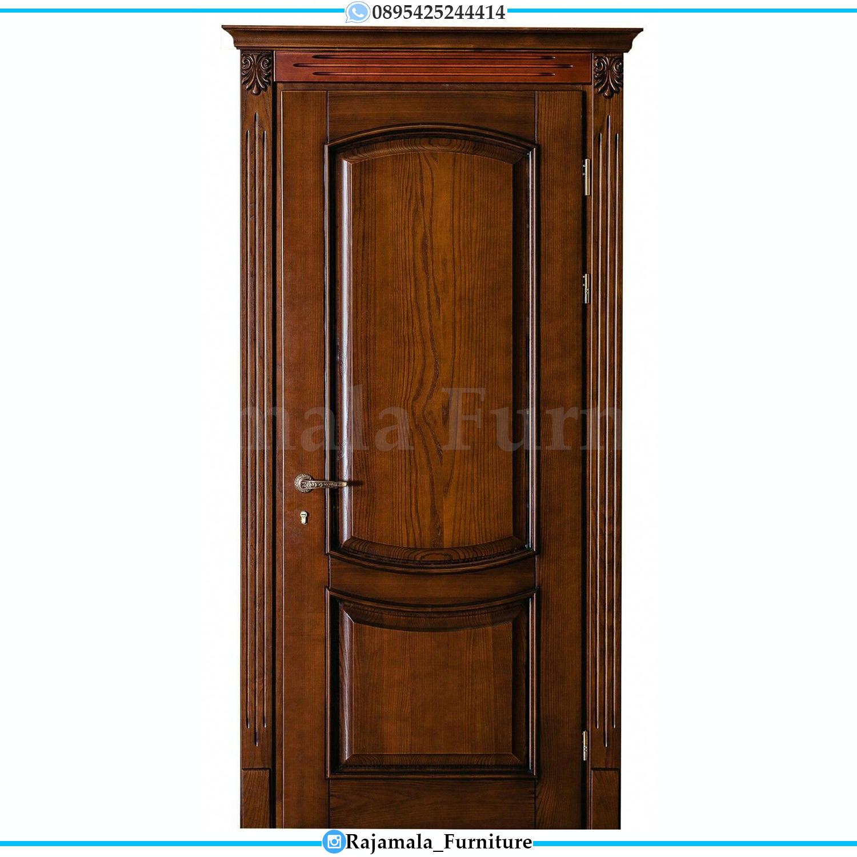 Jual Pintu Jati Mewah Natural Luxury Design Furniture Jepara RM-0204