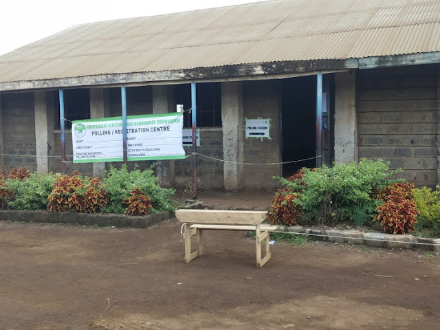 IEBC polling station in Juja. FILE