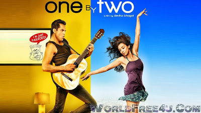 Watch Online Bollywood Movie One by Two 2014 300MB DVDRip 480P Full Hindi Film Free Download At WorldFree4u.Com