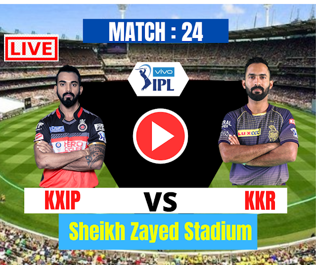 DREAM11 IPL 2020, MATCH 24: KXIP VS KKR, Kolkata Knight Riders have won the toss and have opted to bat