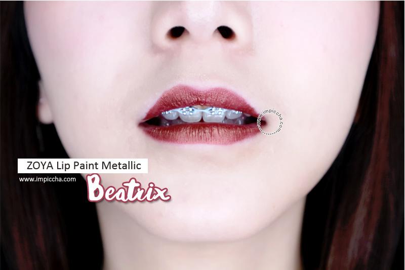 ZOYA Lip Paint Metallic - Beatrix