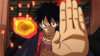 ワンピースアニメ 989話 ワノ国編 | ルフィ 流桜 かっこいい | ONE PIECE Monkey D. Luffy | Hello Anime !