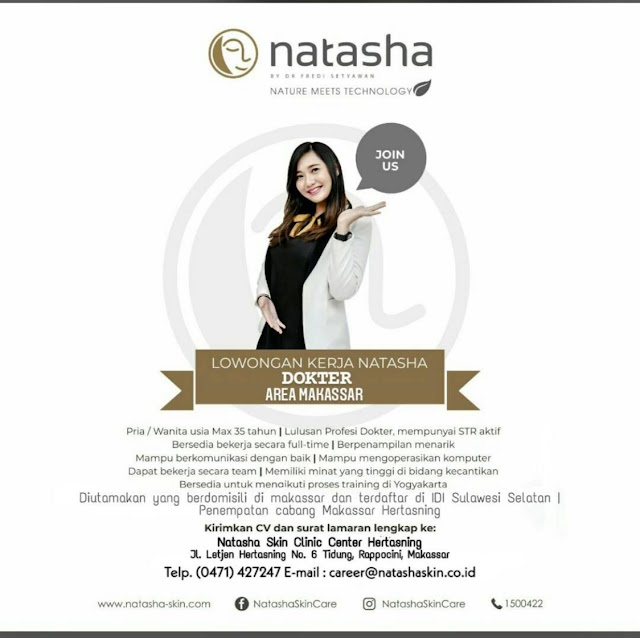 Loker Dokter Natasha Makassar
