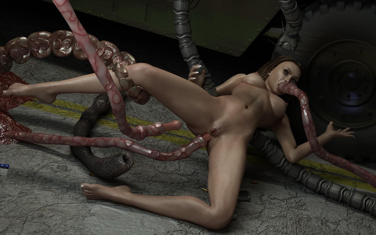 Creatures Fuck Girls Video