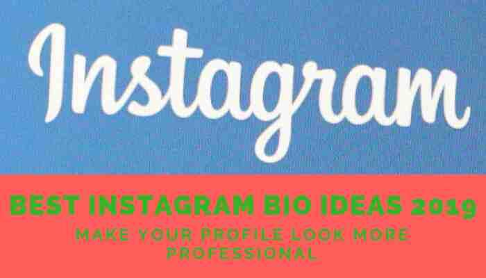 Best Instagram bio ideas 2019    Instagram bio