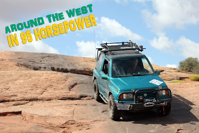 Around the West in 95 Horsepower: Exploring Moab