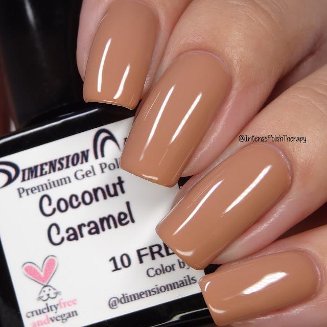 Dimension Nails Coconut Caramel