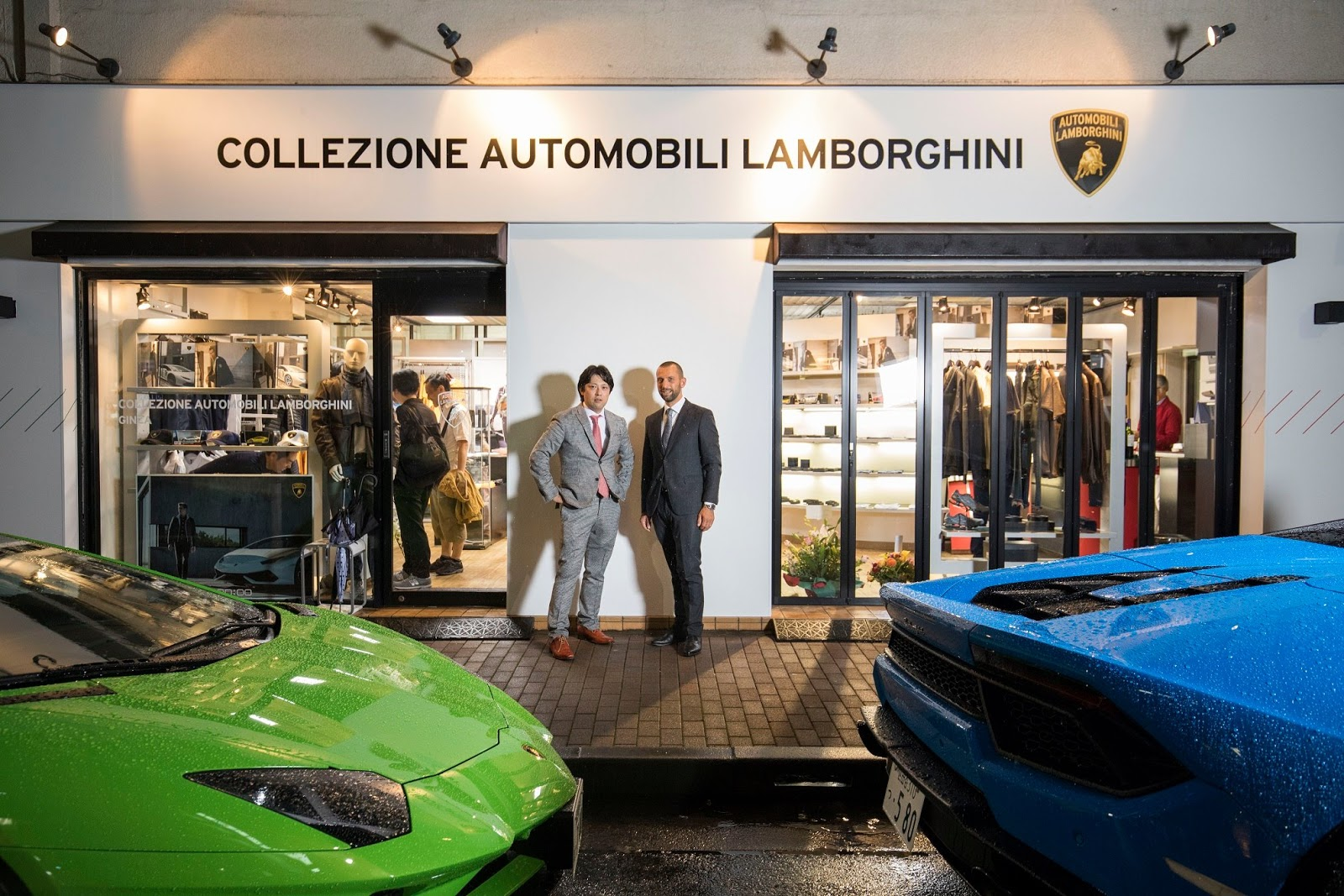 Lamborghini Opened Its First Official Collezione Automobili Lamborghini  Store In Ginza, Japan On 23 September 2017. The New Boutique Includes All  The Menu0027s ...