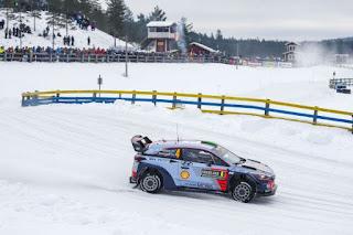 Hyundai Motorsport Raliul Suediei