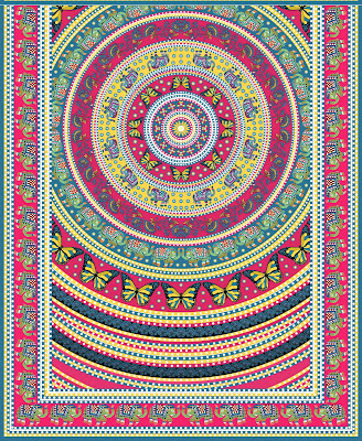 Lavanya-Geometric-Textile-Kaftan 35a
