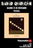 Concierto de David Quinzán en Fotomatón