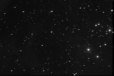 Rosette Nebula in luminance