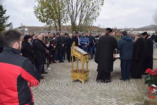Ο εορτασμός της Αγίας Βαρβάρας στο λιγνιτωρυχείο Αχλάδας