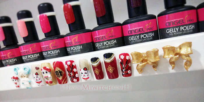 e3084ae7f3c A couple of Chinese New Year nail art done by Cindy were displayed too.